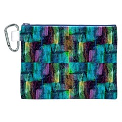Abstract Square Wall Canvas Cosmetic Bag (xxl)