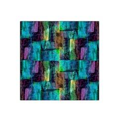 Abstract Square Wall Satin Bandana Scarf
