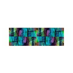 Abstract Square Wall Satin Scarf (oblong)