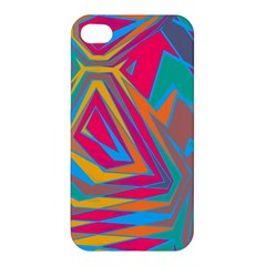 Distorted shapes Apple iPhone 4/4S Hardshell Case
