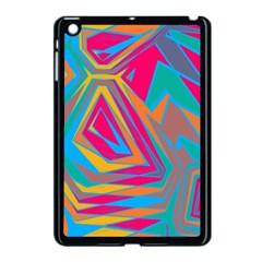 Distorted shapesApple iPad Mini Case (Black)