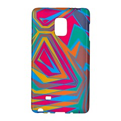 Distorted Shapes			samsung Galaxy Note Edge Hardshell Case
