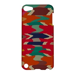 Retro colors distorted shapes			Apple iPod Touch 5 Hardshell Case