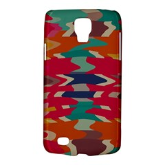 Retro colors distorted shapesSamsung Galaxy S4 Active (I9295) Hardshell Case