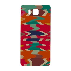 Retro Colors Distorted Shapessamsung Galaxy Alpha Hardshell Back Case