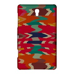 Retro colors distorted shapes			Samsung Galaxy Tab S (8.4 ) Hardshell Case