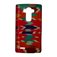 Retro colors distorted shapes			LG G4 Hardshell Case