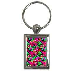 Colorful Leaves Key Chains (rectangle)