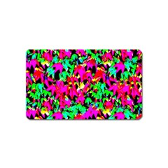 Colorful Leaves Magnet (Name Card)