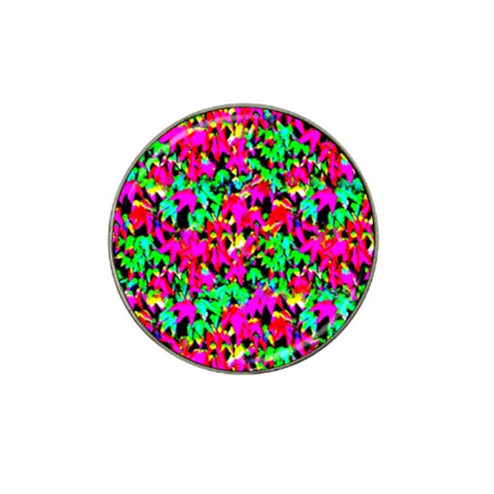 Colorful Leaves Hat Clip Ball Marker