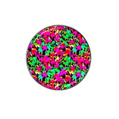 Colorful Leaves Hat Clip Ball Marker (4 pack)