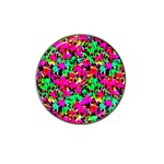Colorful Leaves Hat Clip Ball Marker (10 pack) Front