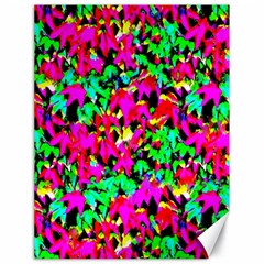 Colorful Leaves Canvas 18  X 24