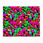 Colorful Leaves Small Glasses Cloth (2-Side) Back
