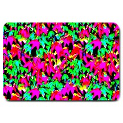Colorful Leaves Large Doormat
