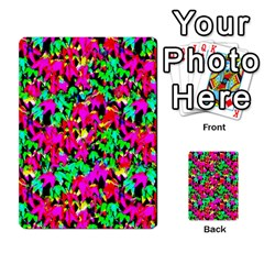Colorful Leaves Multi Purpose Cards (rectangle)