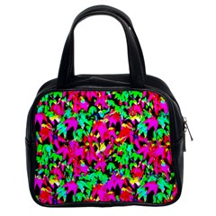 Colorful Leaves Classic Handbags (2 Sides)