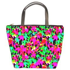 Colorful Leaves Bucket Bags
