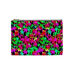 Colorful Leaves Cosmetic Bag (medium)