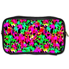 Colorful Leaves Toiletries Bags