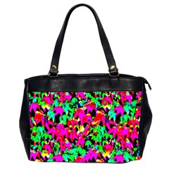 Colorful Leaves Office Handbags (2 Sides)