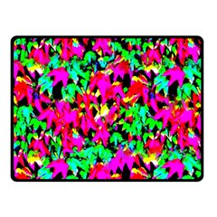 Colorful Leaves Fleece Blanket (small)