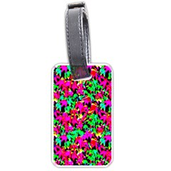 Colorful Leaves Luggage Tags (one Side)