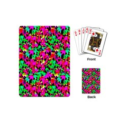 Colorful Leaves Playing Cards (mini)