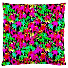 Colorful Leaves Large Cushion Cases (One Side)