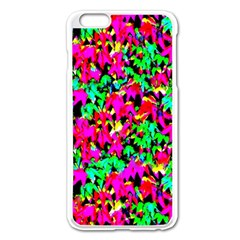Colorful Leaves Apple Iphone 6 Plus/6s Plus Enamel White Case