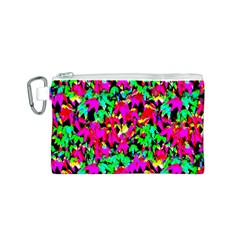 Colorful Leaves Canvas Cosmetic Bag (s)