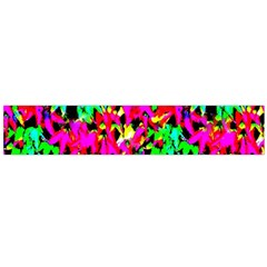 Colorful Leaves Flano Scarf (Large)