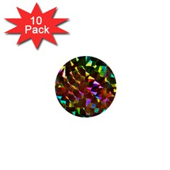 Cool Glitter Pattern 1  Mini Buttons (10 pack)
