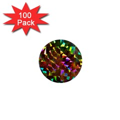 Cool Glitter Pattern 1  Mini Magnets (100 Pack)