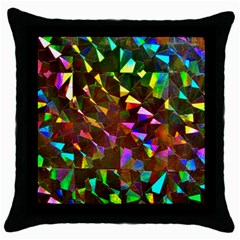 Cool Glitter Pattern Throw Pillow Cases (black)