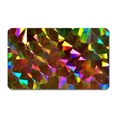 Cool Glitter Pattern Magnet (rectangular)