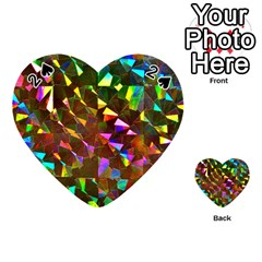 Cool Glitter Pattern Playing Cards 54 (Heart)
