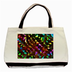 Cool Glitter Pattern Basic Tote Bag (two Sides)