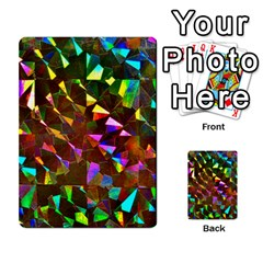 Cool Glitter Pattern Multi-purpose Cards (Rectangle)