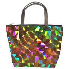 Cool Glitter Pattern Bucket Bags