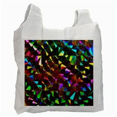 Cool Glitter Pattern Recycle Bag (one Side)