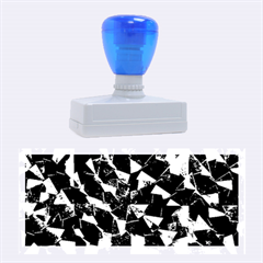 Cool Glitter Pattern Rubber Stamps (large)