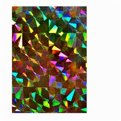 Cool Glitter Pattern Large Garden Flag (two Sides)