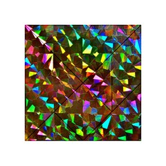 Cool Glitter Pattern Acrylic Tangram Puzzle (4  x 4 )