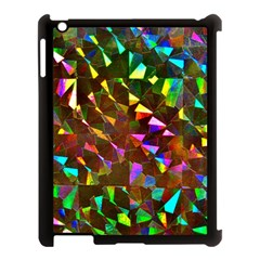 Cool Glitter Pattern Apple iPad 3/4 Case (Black)