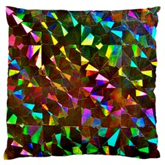 Cool Glitter Pattern Standard Flano Cushion Cases (one Side)