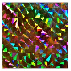 Cool Glitter Pattern Large Satin Scarf (Square)