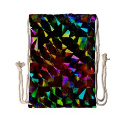 Cool Glitter Pattern Drawstring Bag (small)