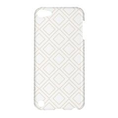 Elegant Beige Modern Pattern Design Apple iPod Touch 5 Hardshell Case