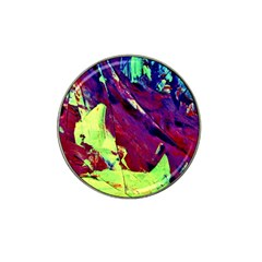 Abstract Painting Blue,yellow,red,green Hat Clip Ball Marker